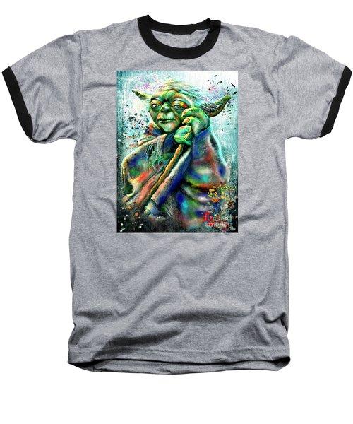 Star Wars Yoda Baseball T-Shirt