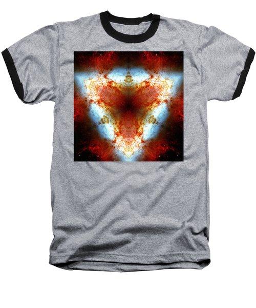 Starburst Galaxy M82 Vi Baseball T-Shirt