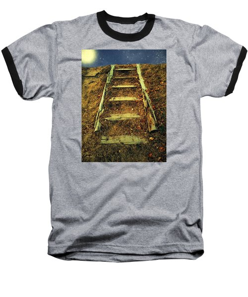 Starclimb Baseball T-Shirt by RC deWinter