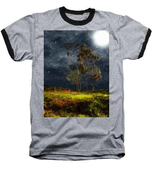Starfield Baseball T-Shirt by RC deWinter