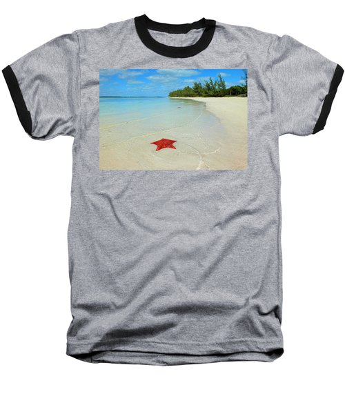 Starfish 5 Of Bottom Harbour Sound Baseball T-Shirt