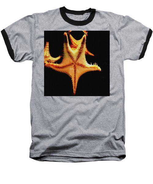Baseball T-Shirt featuring the photograph Starfish In Mosaic by Janette Boyd