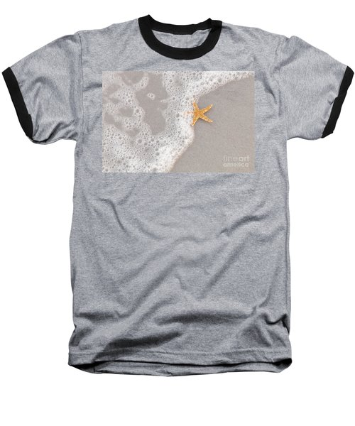 Starfish In The Surf Baseball T-Shirt