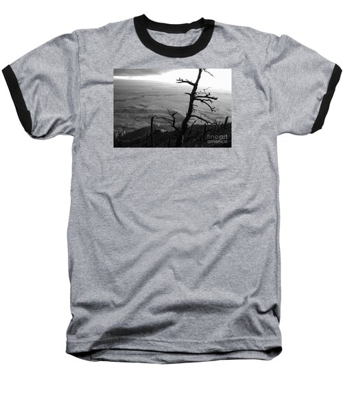 Baseball T-Shirt featuring the photograph Stark Tree by Mary Carol Story