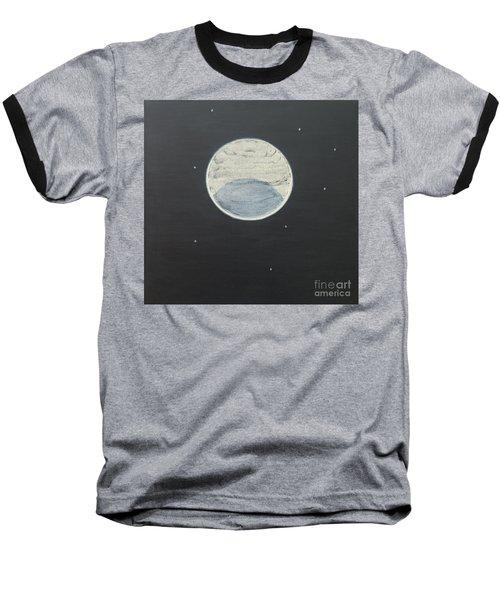 Baseball T-Shirt featuring the painting Starlight by Mini Arora