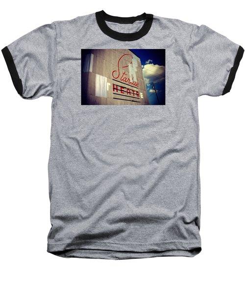 Starlite  Baseball T-Shirt by Trish Mistric