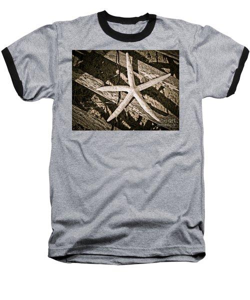 Starring Me  In Sepia Baseball T-Shirt