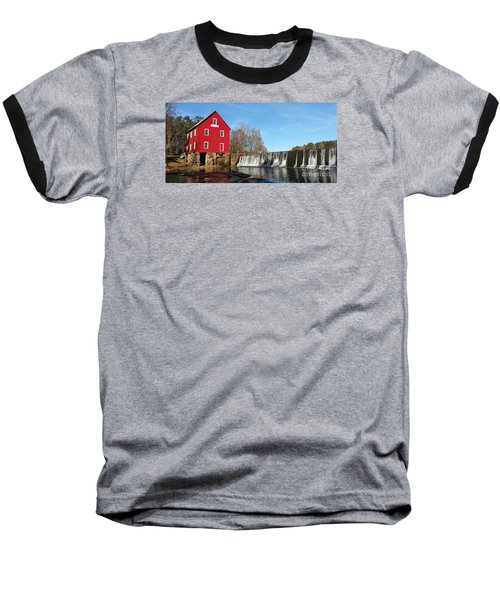 Baseball T-Shirt featuring the photograph Starr's Mill In Senioa Georgia by Donna Brown
