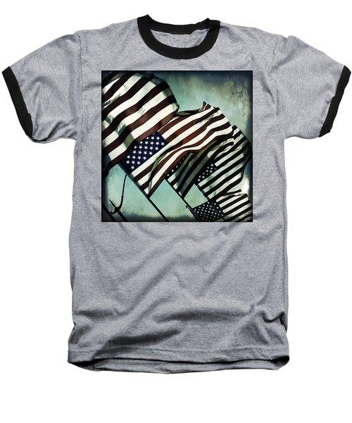 Stars N  Stripes Baseball T-Shirt
