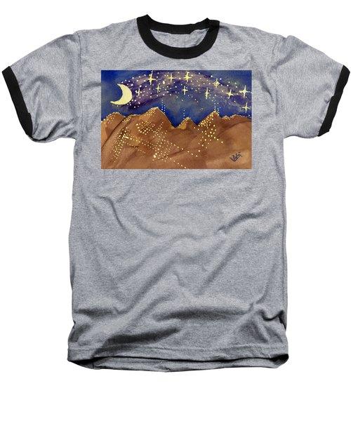 Stars Of Heaven And Earth Baseball T-Shirt