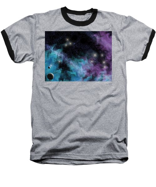 Starscape Nebula Baseball T-Shirt