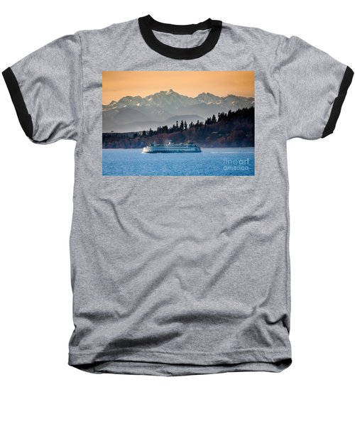 State Ferry And The Olympics Baseball T-Shirt