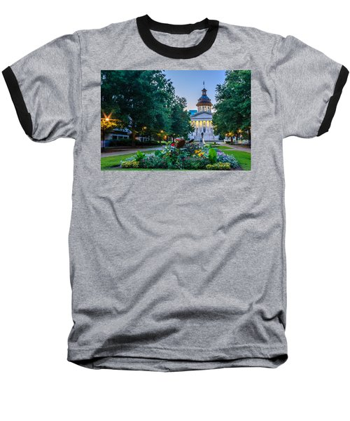 State House Garden Baseball T-Shirt by Rob Sellers