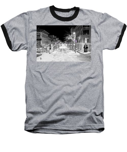 State Street Madison Baseball T-Shirt by Steven Ralser