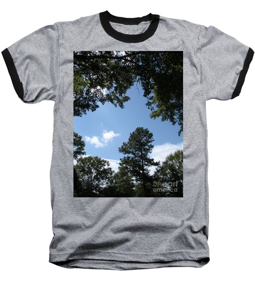 Stately Forest  Baseball T-Shirt
