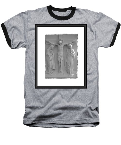 Station X I I Baseball T-Shirt by Sharon Elliott
