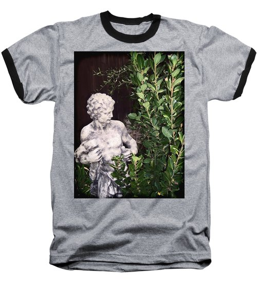 Baseball T-Shirt featuring the photograph Statue 1 by Pamela Cooper