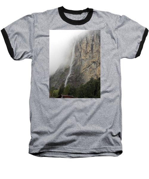 Staubbach Falls Baseball T-Shirt