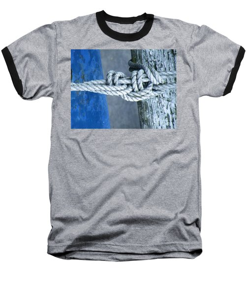 Baseball T-Shirt featuring the photograph Stay by Brian Boyle