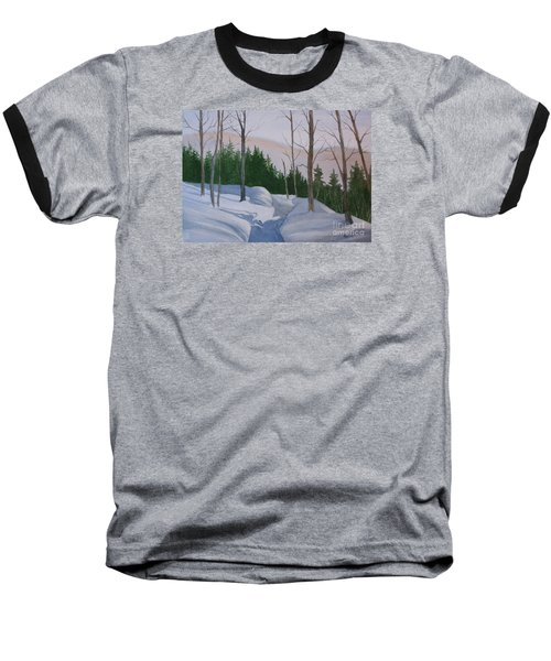 Stay On The Path Baseball T-Shirt