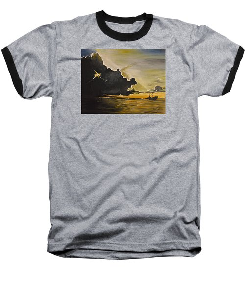 Staying Ahead Of The Storm Baseball T-Shirt