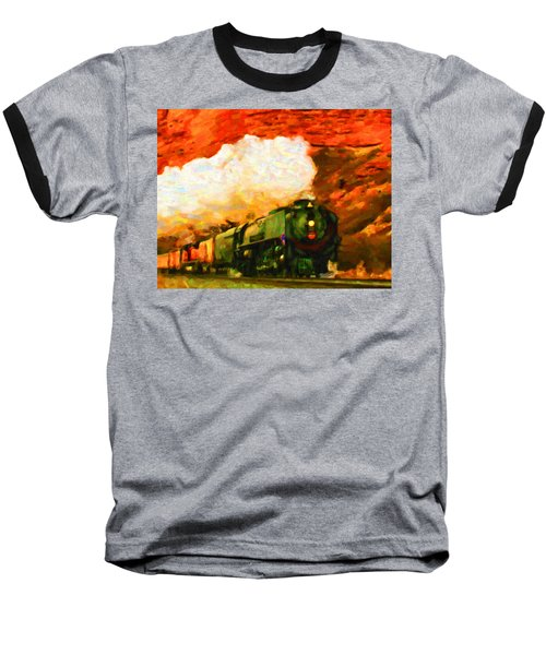 Steam And Sandstone Baseball T-Shirt