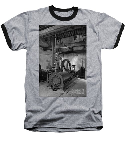 Steam Engine At Locke's Distillery Baseball T-Shirt by RicardMN Photography
