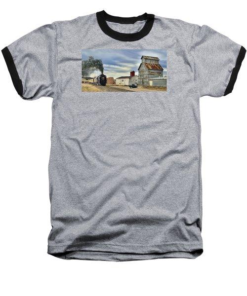 Steam In Castle Rock Baseball T-Shirt by Ken Smith