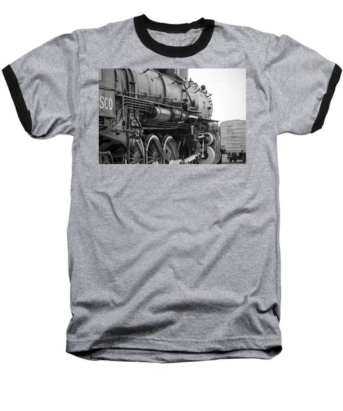 Steam Locomotive 1519 - Bw 02 Baseball T-Shirt