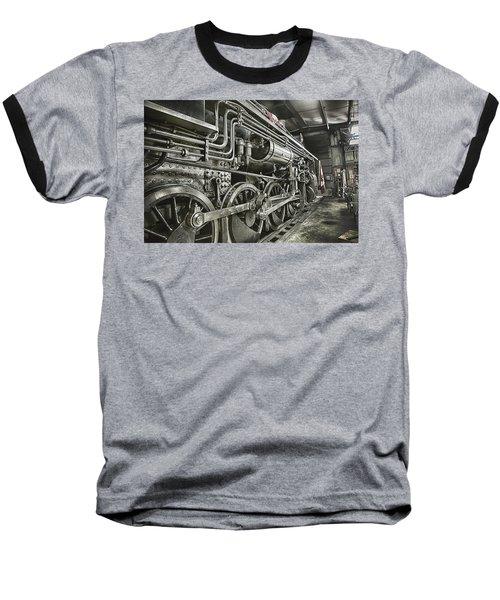 Steam Locomotive 2141 Baseball T-Shirt