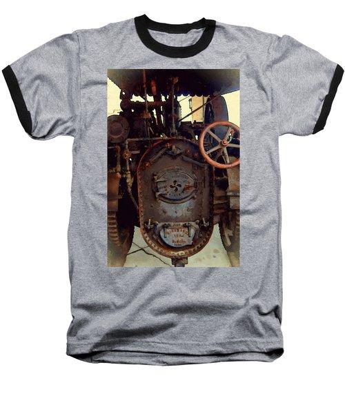 Steam Power Baseball T-Shirt