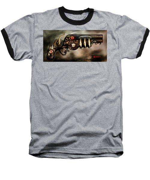 Steam Punk Pistol Mk II Baseball T-Shirt
