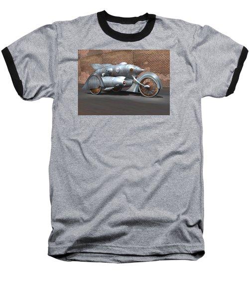 Steam Turbine Cycle Baseball T-Shirt