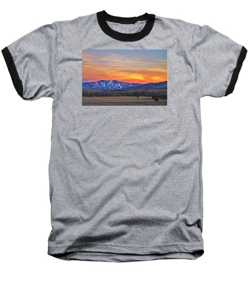 Steamboat Alpenglow Baseball T-Shirt
