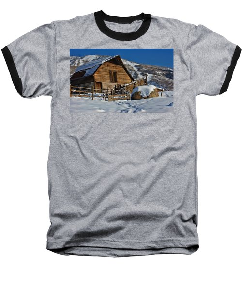 Steamboat Barn Baseball T-Shirt