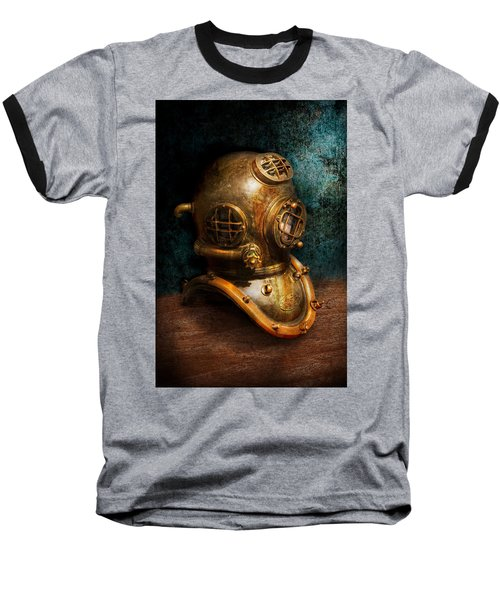 Steampunk - Diving - The Diving Helmet Baseball T-Shirt