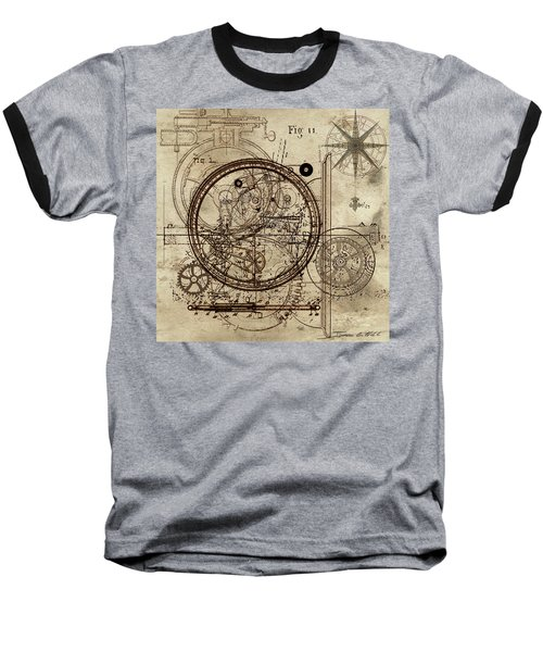 Steampunk Dream Series IIi Baseball T-Shirt