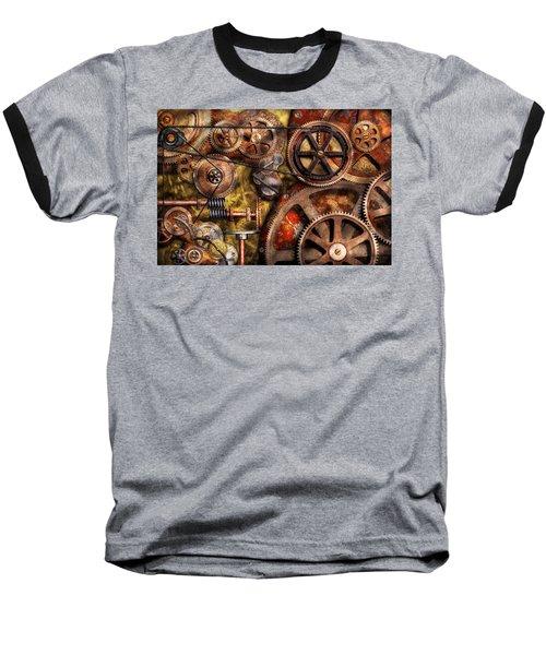Steampunk - Gears - Inner Workings Baseball T-Shirt