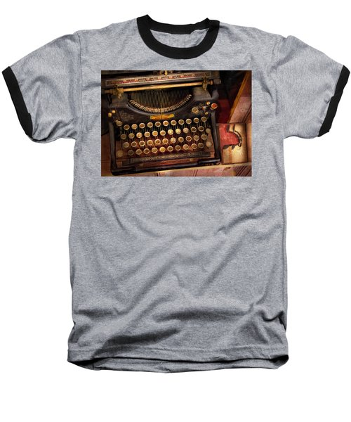 Steampunk - Just An Ordinary Typewriter  Baseball T-Shirt