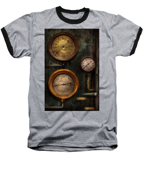 Steampunk - Plumbing - Gauging Success Baseball T-Shirt