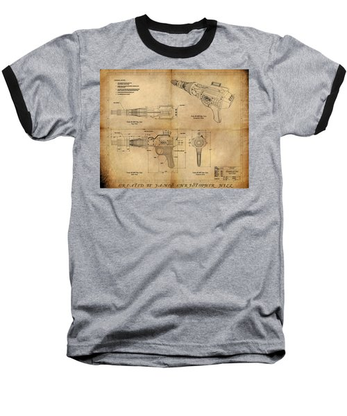 Steampunk Raygun Baseball T-Shirt