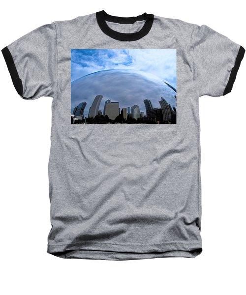 Steel Globe Baseball T-Shirt