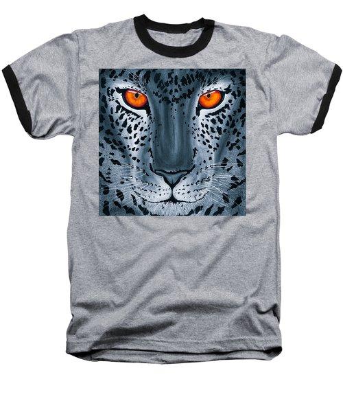 Steel Leopard Baseball T-Shirt