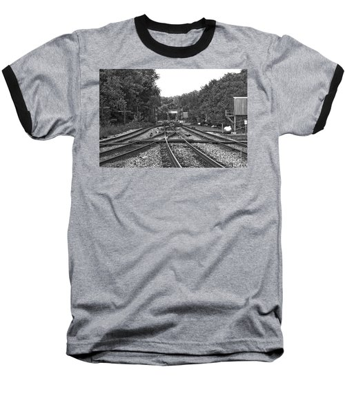 Steel Rail Intersections.   Point Of Rocks Md Baseball T-Shirt