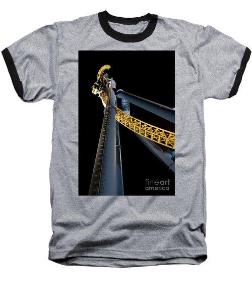 Steel Venom Baseball T-Shirt by Jacqueline Athmann