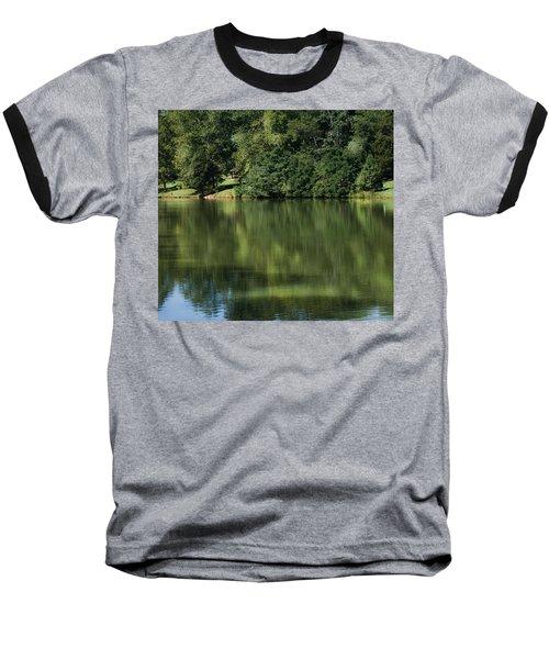 Steele Creek Park Reflections Baseball T-Shirt