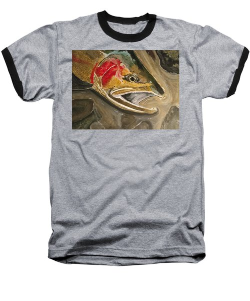 Steelhead Buck Baseball T-Shirt
