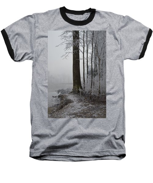 Steep And Frost Baseball T-Shirt by Felicia Tica