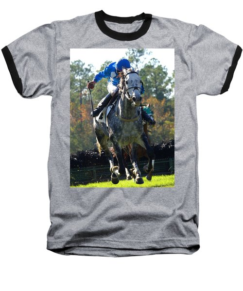 Baseball T-Shirt featuring the photograph Steeplechase by Robert L Jackson