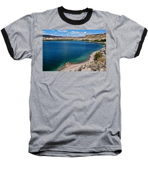 Baseball T-Shirt featuring the photograph Steinacker Reservoir Utah by Janice Rae Pariza